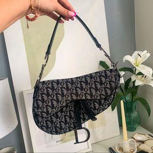 Authentic Vintage Dior Saddle Bag